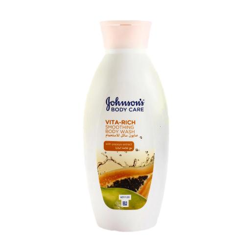 Johnson's Vita-Rich Smoothing Body Wash (400 ml)
