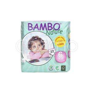 Bambo Nature Xl Size 6, 16 - 30 Kg, 22 Diapers