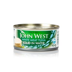 John West White Meat Tuna Solid in Water (170 g)