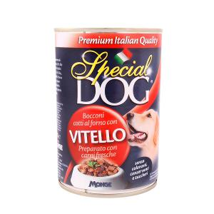 Special Dog Food Veal (Can, 400 g)