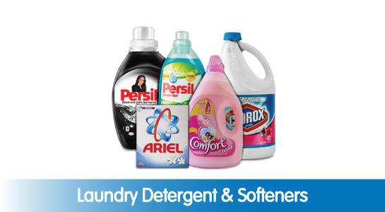 Laundry Detergent & Softeners