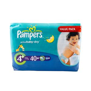 Papers Active Baby-Dry Diapers Value Pack Large (40 diapers)