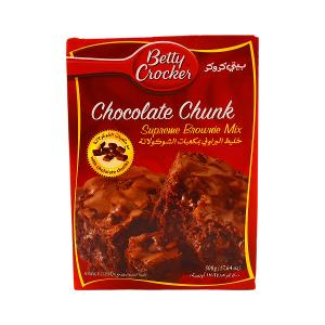 Betty Crocker Chocolate Chunk Supreme Brownie Mix 500g