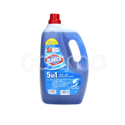 Clorox Liquid Floor Cleaner & Disinfectant 5 in 1 Sea Breeze 3 Ltr