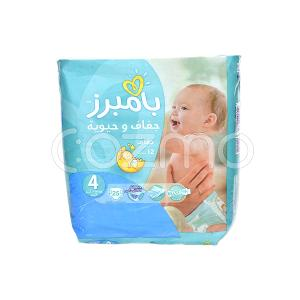 Pampers Active Baby-Dry Diapers, Size 4 - 25 Pcs