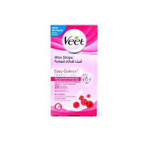 Veet Normal Skin Wax Strips with Easy Grip 20 Strips