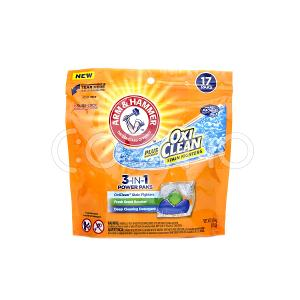 Arm & Hammer Plus Oxiclean 3-in-1 Laundry Detergent Paks 17 Paks