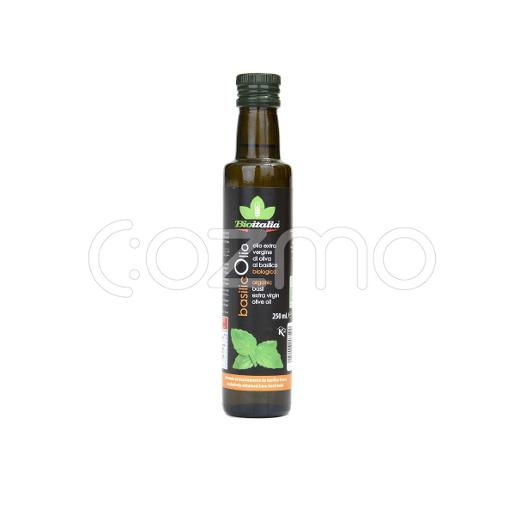 Bioitalia Organic Extra Virgin Olive Oil With Basil 250ml