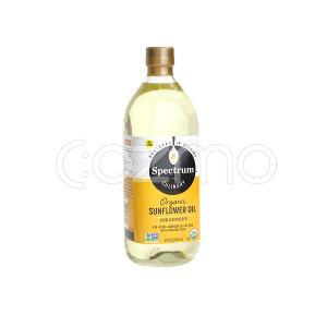 Spectrum Culinary Organic Sunflower Oil 946ml