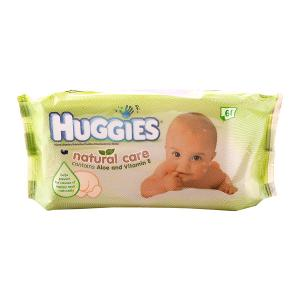 Huggies Baby Wipes Natural Care (64 pcs)