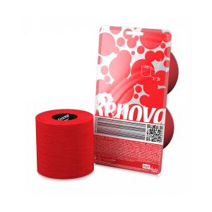 Crystal 2 Roll Red Toilet Paper