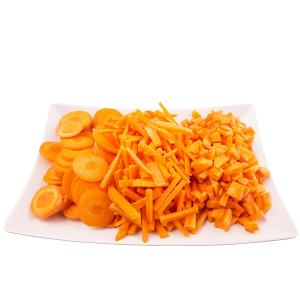 Chopped Carrots Tray