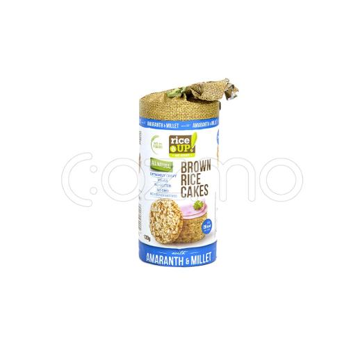 Rice Up Brown Rice Cakes With Amaranth & Millet 120g