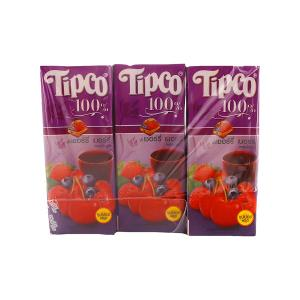 Tipco Cherry Berry Juice (6 pcs, 200 ml)