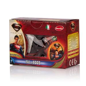 Sweetoon Superman Milk Chocolate Eggs (2 pcs, 20 g)