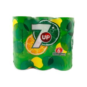 7 Up Cans (250 ml 6 Pack)