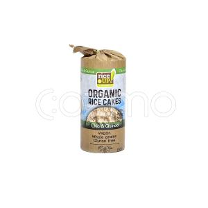 Rice Up Organic Rice Cakes With Quinoa & Chia 120g