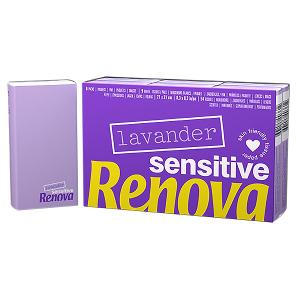 Renova Sensitive Lavender Pocket Tissues