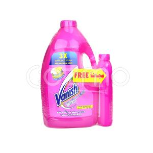 Vanish Multi Use Fabric Stain Remover 3 Ltr + 500ml