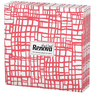Renova Napkins- Red Stripes