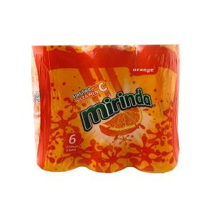 Miranda Orange (6 cans x 250 ml)