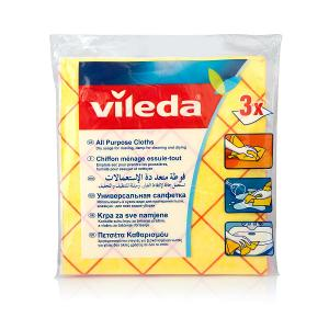 Vileda All Purpose Cloth (3 pcs)