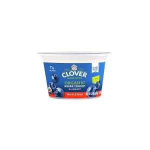 Clover Organic Greek Blueberry Yogurt 150g
