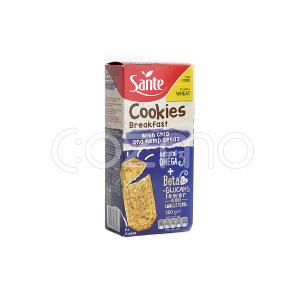 Sante Breakfast Cookies With Chia And Hemp Seeds 300g