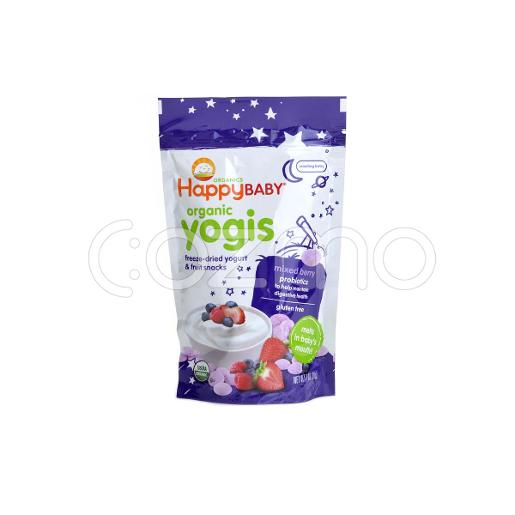 Happy Baby Mixed Berry Organic Yogurt & Fruit Snacks  28g
