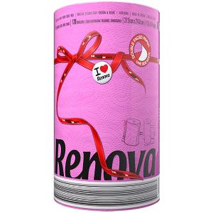 Renova Kitchen Towels- Fuchsia color