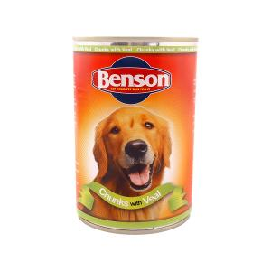 Benson Dog Chunks with Veal
