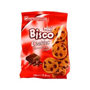 Bisco Cookies with Chocolate Chips (70 g)