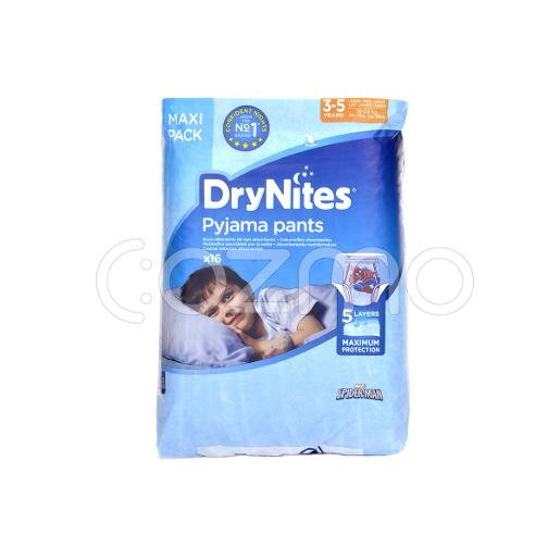 DryNites Pyjama Pants Boys 3-5 years 16 Pcs