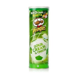 Pringles Chips Sour Cream & Onions (165 g)